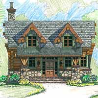 Jewel Box Cabin Plans