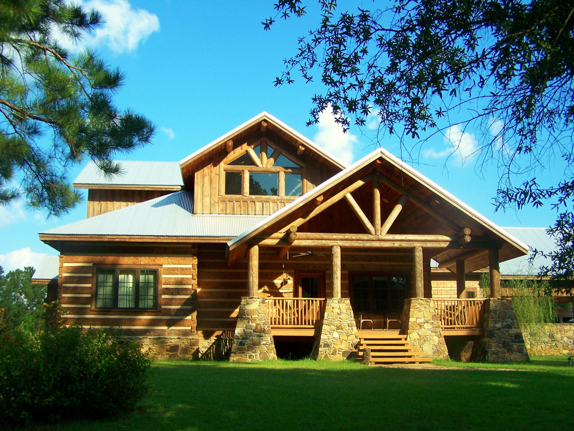 Copperhead Camp Home Plan from Natural Element Homes