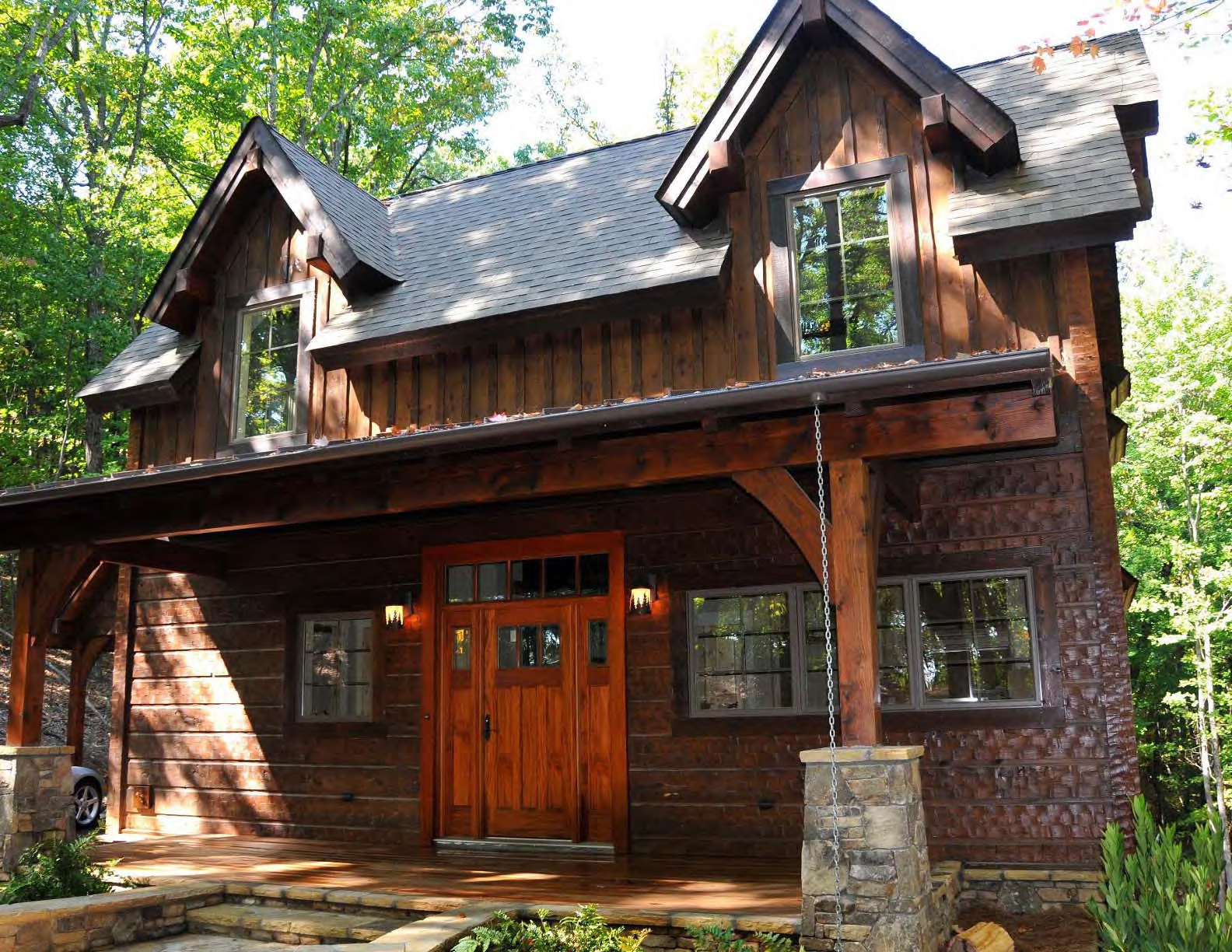Build This Cozy Cabin Cozy Cabin Magazine Do It Yourself: Natural Element Homes