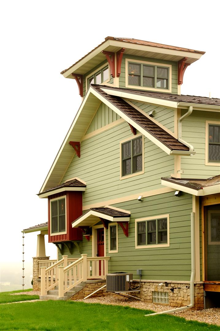 Photo gallery natural element homes for House plans with tower room