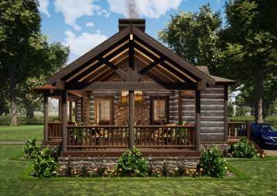 Cubby Hole Camp by Natural Element Homes