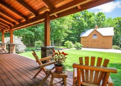 Deep Gap Lodge by Natural Element Homes