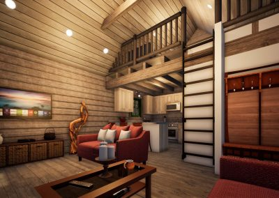 Camping Cabin by Natural Element Homes
