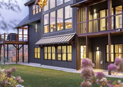 Pear Mountain Lodge by Natural Element Homes