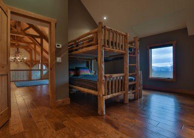 Ravens Nest North Upper Floor Plan by Natural Element Homes