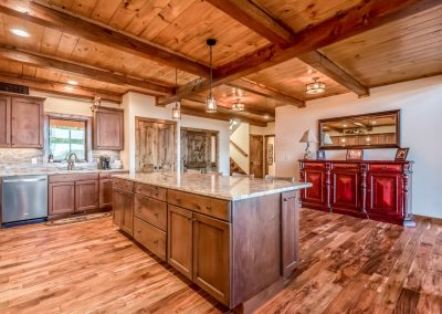 Rye Mountain Lodge by Natural Element Homes