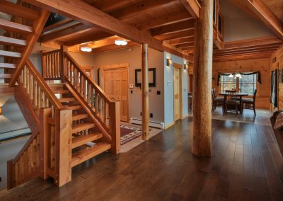 Tucked In Lodge by Natural Element Homes