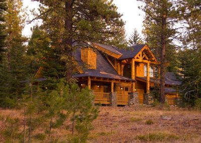 Mountain View Lodge by Natural Element Homes