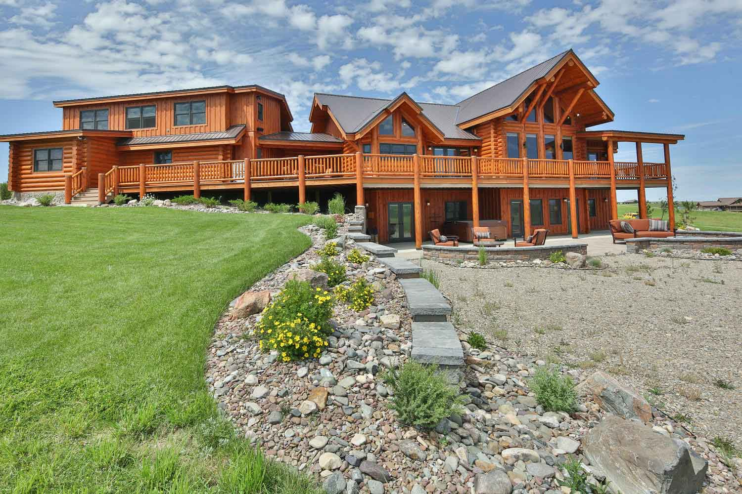 Rock Ride Ranch by Natural Element Homes