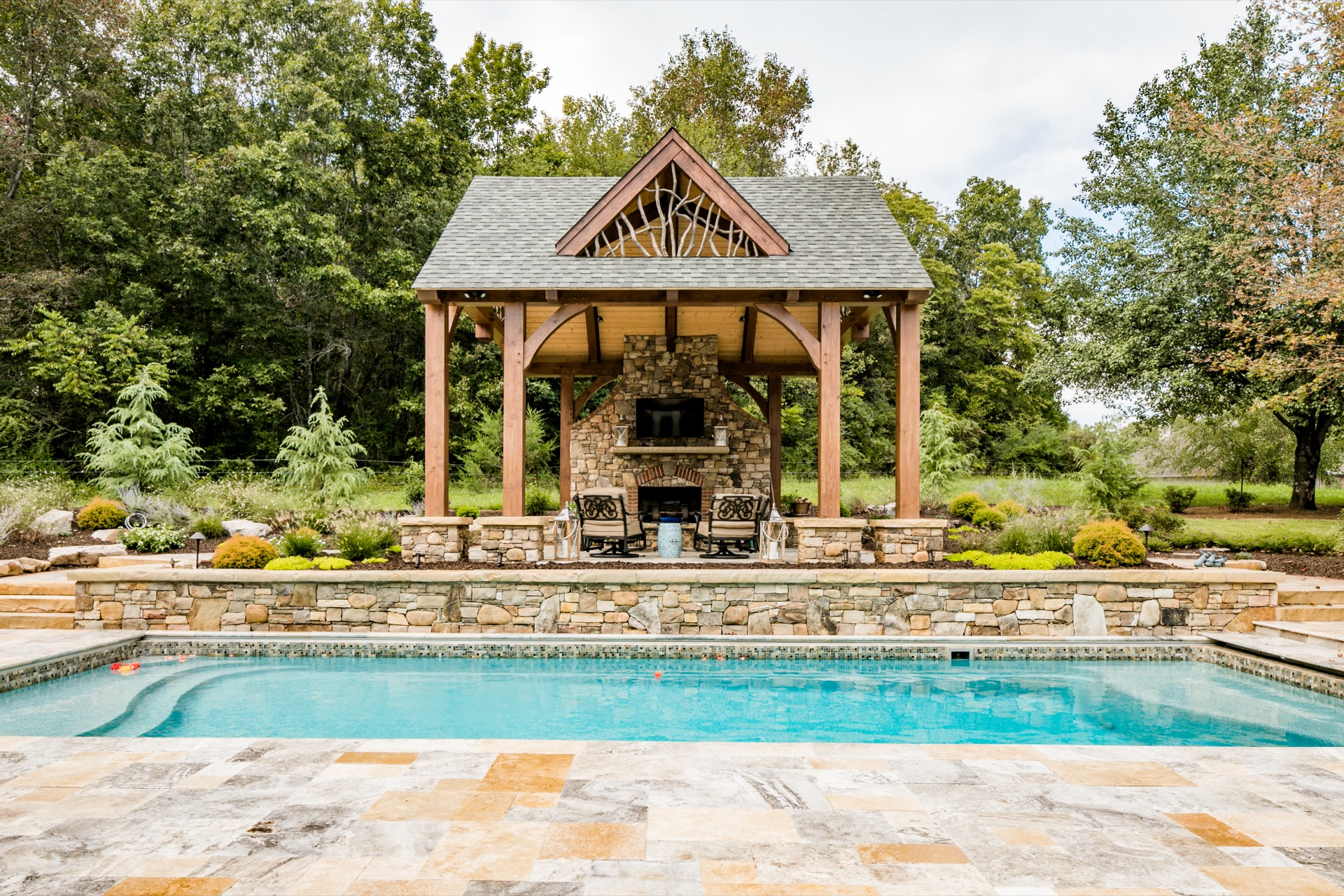 Our Nest Outdoor Living Plan by Natural Element Homes