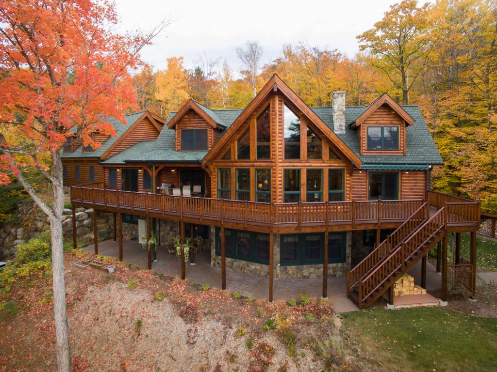 Log Homes and Log Cabins | Natural Element Homes on